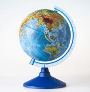 Глобус Земли физический. Диаметр 150 мм