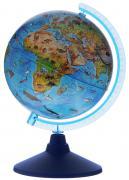 Globen Глобус Земли зоогеографический детский диаметр 21 см цвет...