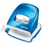 Дырокол Leitz Nexxt 50082036 до30 листов синий слинейкой