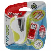 """Степлер Maped """"Ergologic-mini"""", для скоб 24/6 и 26/6, цвет: белый,..."""