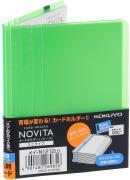 Kokuyo Визитница Novita на 60 визиток цвет светло-зеленый