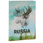 Обложка для паспорта Лось. OZAM300