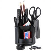 """Набор настольный Erich Krause """"Mini Desk"""", цвет: черный, 13 предметов"""