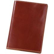 Обложка для паспорта Cover, коричневая, кожа