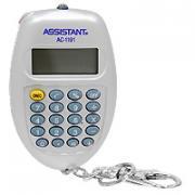 """Калькулятор """"Assistant AC-1191"""", 8-разрядный, цвет: серебристый"""
