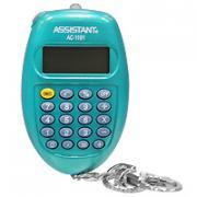 """Калькулятор """"Assistant AC-2319"""", 8-разрядный, цвет: морской волны"""
