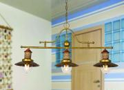 Подвесной потолочный светильник 1216-3P