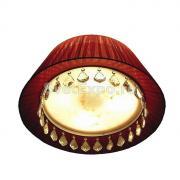 Потолочный светильник Wunderlicht Bresson MX9655-5CH с подвесками из...