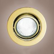 Точечный светильник Eglo 87373 матовое золото EinbauSpot