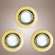 Точечный светильник Eglo 87378 хром EinbauSpot