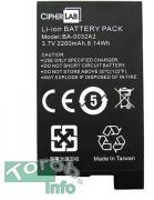 CIPHER CP50 Battery, 3.7V 3300mAh Li-ion.