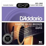 D'Addario EXP13 струны для акустической гитары