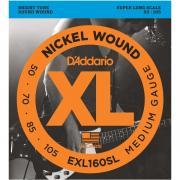 Гитарные струны D'Addario EXL160SL (для электрогитары)