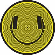 DMC Technics Smiley Headphones Slipmats (Пара)