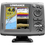 Эхолот-картплоттер Lowrance Hook-5 Mid/High/DownScan™