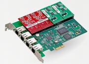 Atcom AXE-400P - Интерфейсная плата (4FXO/4FXS)