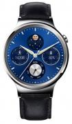 Huawei Watch Genuine Leather Strap Silver