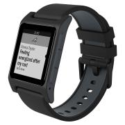 Pebble 2 + Heart Rate (Black) – умные часы