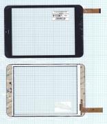 - Сенсорное стекло (тачскрин) D-0736A3-PG-FPC черный, Диагональ 7.85