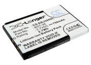 Аккумулятор для сотового телефона Sony Ericsson 3,7V 750mAh код...