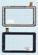 - Сенсорное стекло (тачскрин) HK70DR2201 черный, Диагональ 7