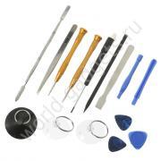 Набор инструмента для ремонта iPhone / Samsung / LG (15 в 1)
