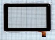- Сенсорное стекло (тачскрин) FM700405KD черное, Диагональ 7