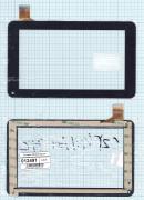 - Сенсорное стекло (тачскрин) CZY6411-F728H/S738 черный