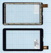 - Сенсорное стекло (тачскрин) FPC-CY070171(K71)-00 черный, Диагональ 7