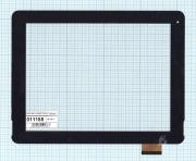 Сенсорное стекло - тачскрин F-WGJ97104-V2 черный, Диагональ 9.7