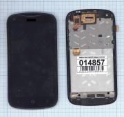 - Модуль (матрица+тачскрин) Microsoft Lumia 430 Dual Sim черный с...