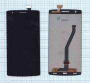 - Модуль (матрица+тачскрин) OnePlus One черный, Диагональ 5.5,...