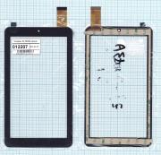 - Сенсорное стекло (тачскрин) ZJ-70053A черное, Диагональ 7