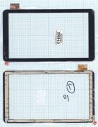 - Сенсорное стекло (тачскрин) FM102201KA черный, Диагональ 10.1, Digma