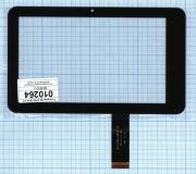 - Сенсорное стекло (тачскрин) 04-0700-0618 V2 черное, Диагональ 7