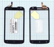 - Сенсорное стекло (тачскрин) Huawei U8828 черный, Huawei