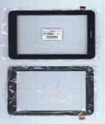 - Сенсорное стекло (тачскрин) Oysters 7X 3G черный с рамкой, Диагональ...