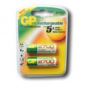 Аккумулятор AA - GP R06 2700 mAh Ni-MH (2 штуки) / 270AAHC-UC2PET-G