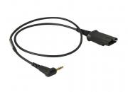Шнур-переходник Plantronics QD на 2.5 мм. (PL-QD-2.5)(64279-02)