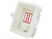 Короб для врезного монтажа одинарного модуля 2N SIP домофона