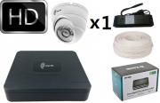 Комплект IP видеонаблюдения iTech Pro 1 мегапиксель 1 камера