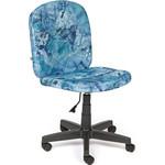 """Кресло TetChair STEP ткань, """"карта на синем"""""""