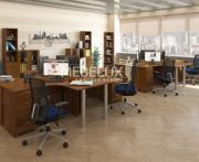 Мебель для персонала ML Орех Стиль