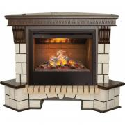 Каминокомплект Real Flame Stone New Corner (с очагом 3D Helios)