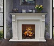 Каминная облицовка Maestro Классик Carrara White (160*120*30)