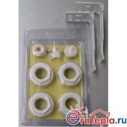 Монтажный комплект (универсальный) 3/4 для радиаторов Rifar Alum