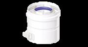 Адаптер котла коаксиальный D60/100 мм (Conti, PVV610FFB)