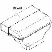 Удлиннитель канала отвода горизонтальный BORA basic blavh для bia