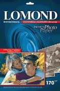 Фотобумага Lomond A4, Semi-Glossy, 170г, 1-ст.,20л. (1101305)