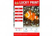 Матовая фотобумага Lucky Print (A4,190 г/m2), 50 листов